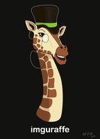 The Official Imguraffe Masot by MyRobotBee