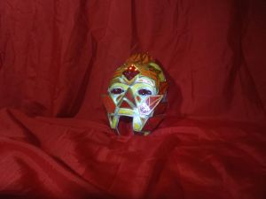 flame prince inspired mask by crazykazy