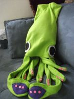 Giant Squid Hat by slavesacrifice666