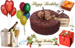 Happy Birthday - PNG by lifeblue