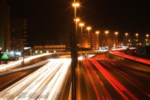 cars lights by al3aneed55
