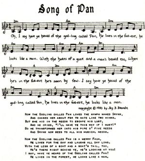 Music - Song of Pan