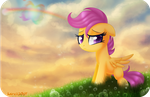 Scootaloo's Wings by karzii