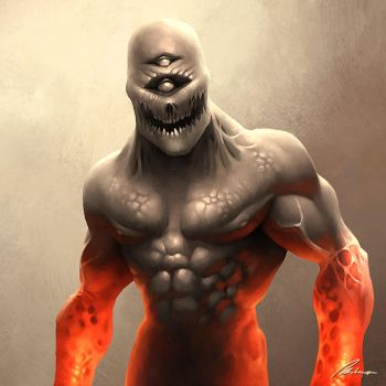 Cyclopean Demon by Dreamphaser