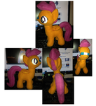 Scootaloo Plushie Test by StitchCometCreations