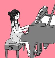 Piano by tomosato