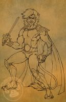 Lion-O work in progress by lady-cybercat