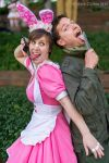 AWA 19 - Bunny and Dieselpunk by WashuuOtaku