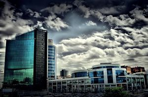HDR Shopping Center by trmustapha