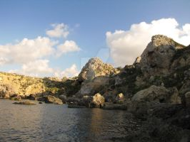 Gnejna's Waters by Maltese-Naturalist