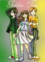 The Trio - The Golden Triangle by Zanai