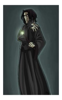 Snape for Aurore by kyla79