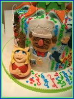 Miss Piggy and the Swedish Chef! by gertygetsgangster
