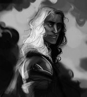 Jaqen Sketch by kallielef