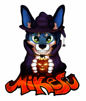 Mikesu Halloween badge by Rodney5