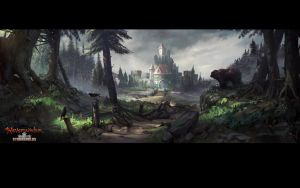 Neverwinter Stronghold Stage1 Final by GreyHues