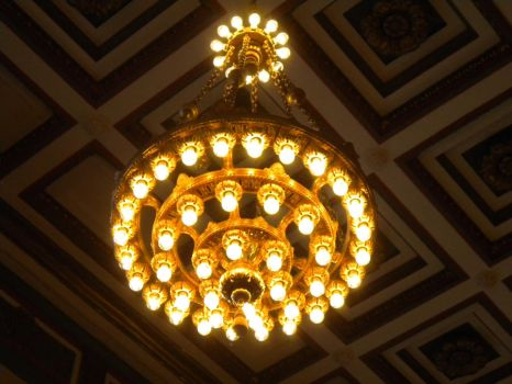 Chandalier by wrecklesstock