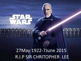 R.I.P Sir Christopher Lee by EcorynV