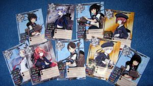 Kancolle cards print test by Rom-Stol