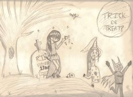 Trick or Treat by lizzy905