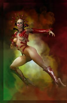 Red Temptation by goor