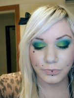 FOTD - green and teal by roxy-rouge