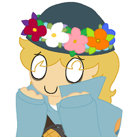 Broose With A Flower Crown by Noobynewt