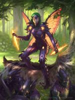 Legend of the Cryptids: Pixie - Advanced by namesjames