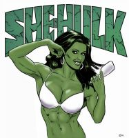 She-Hulk Again by co4