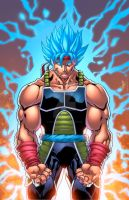 Bardock God by Kid-Destructo
