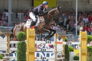 3DE Show Jumping Phase Stock 174 by LuDa-Stock