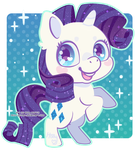 Rarity by Miss-Glitter