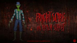 Fright Scare on Realm Street by AnutDraws