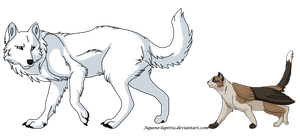 Leave me alone_Commission by Aquene-lupetta