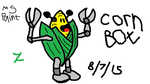 Corn Bot MS Paint by TheAmazingCornbot