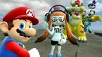 Mario Gets Disturbed By Inklings....Again by ASpider25