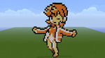 Pokemon G/S/C Misty Minecraft Sprite by HaloFreak001