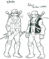 Scrap: Future Raph and Mike by Shellsweet