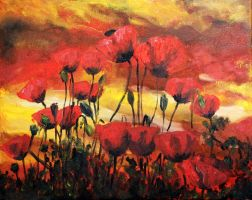 Coquelicots by TheLittleCrow