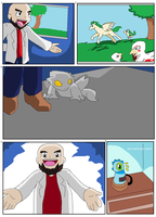 MinEmon comic #1 pg 1 by Chaos55t