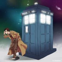 10th Doctor by nicoyguevarra