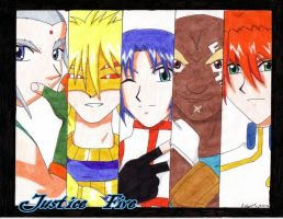 Justice Five - G Rev by liika