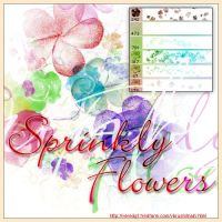 sprinkle flowers ps7 vbrush by veredgf