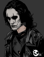 The Crow by kenmejia