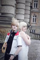 Roxas [Twilight Town] and Namine 2 by 0Haniko0