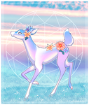 Doe at Dusk by CitrusConstellation