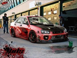 Subaru Impreza by apple-yigit-jack