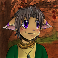 Miles - Autumn Portrait by Nestly