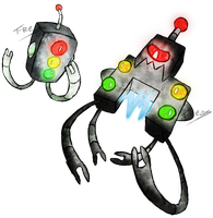 Traffic Light Fakemon by T-Reqs