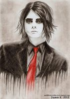 Gerard Way 14 by UNTILitFADEStoBLACK